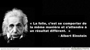 Citation d'Albert Einstein