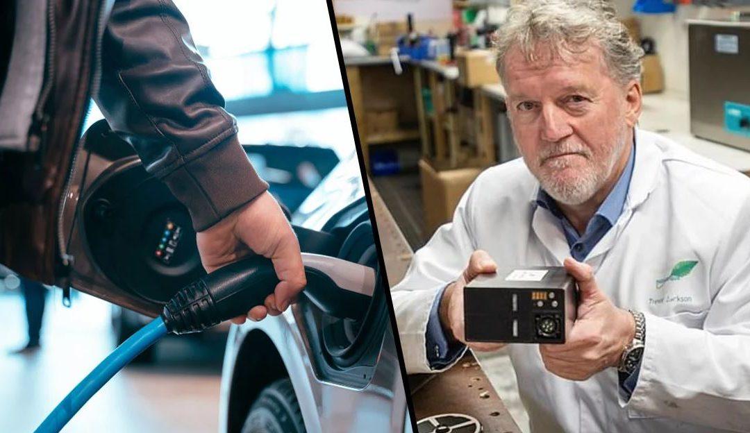 Un ancien officier de la marine devenu inventeur a mis-au-point une nouvelle batterie de voiture électrique qui peu parcourir 2,500 km sans recharger.